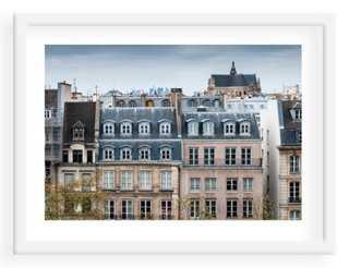 "Paris Rooftops I- 24"" x 18""- Framed - One Kings Lane"