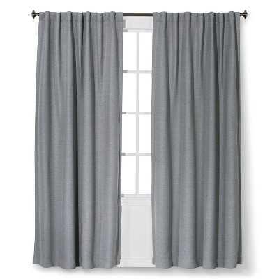 """Thresholdâ""""¢ Light Blocking Basketweave Curtain Panel - Target"""