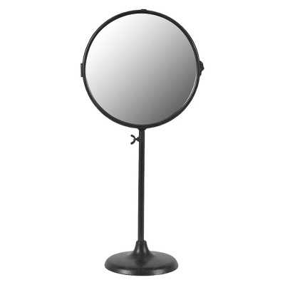 "19"" Metal Two-Sided Mirror on Stand - Target"