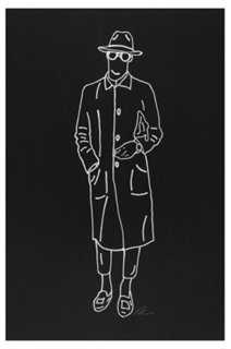 "Rankin Willard, Trench Coat - 12"" x 18"" - Unframed - One Kings Lane"