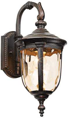 "Bellagioâ""¢ 16 1/2"" High Downbridge Outdoor Wall Light - Lamps Plus"