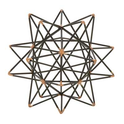 Wire Star Sculpture - Wayfair