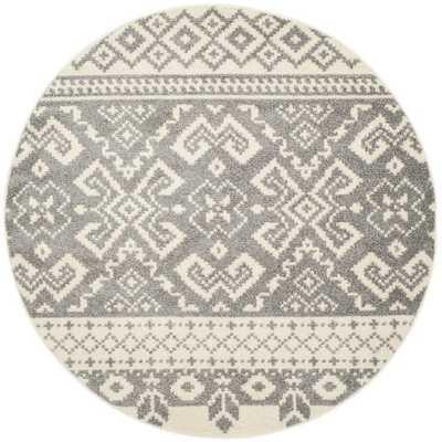 Adirondack Ivory & Silver Area Rug - AllModern