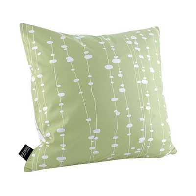 Estrella Pussy Willows Linen Throw Pillow - AllModern
