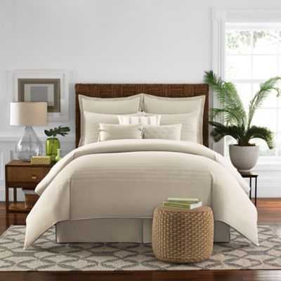 Real Simple Boden King Comforter Set in White - Bed Bath & Beyond