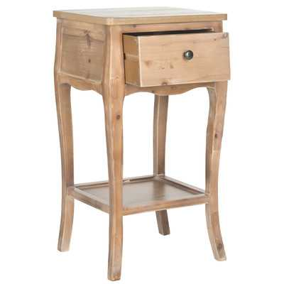 American Home Thelma End Table-Honey Nature - Wayfair
