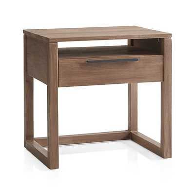 Linea II Nightstand - Crate and Barrel