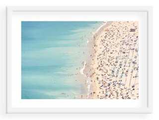 """John Harper, Ondarreta Beach, Spain - 40"""" x 29"""" - Framed - One Kings Lane"""