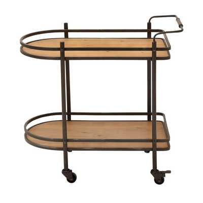 ecWorld Contemporary Bar Cart - Overstock