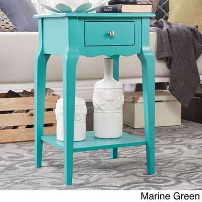 INSPIRE Q Daniella 1-drawer Wood Storage Accent End Table - Overstock