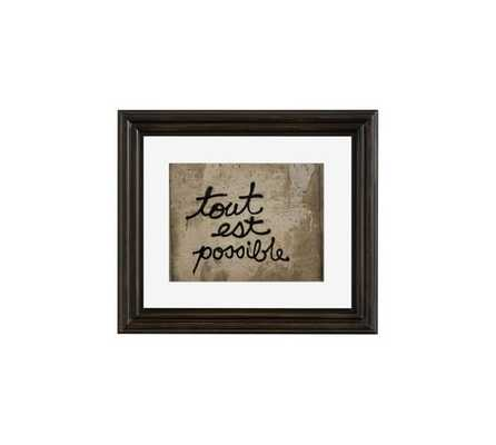 All is Possible Framed Print by Rebecca Plotnick - Pottery Barn