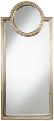 Solen Keyhole Wall Mirror - Lamps Plus