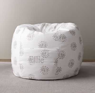 printed canvas bean bag cover - RH Baby & Child