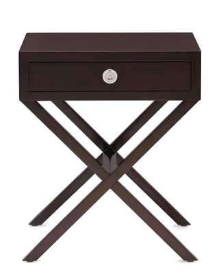 Hudson Side Table - Cocoa Stain - Williams Sonoma