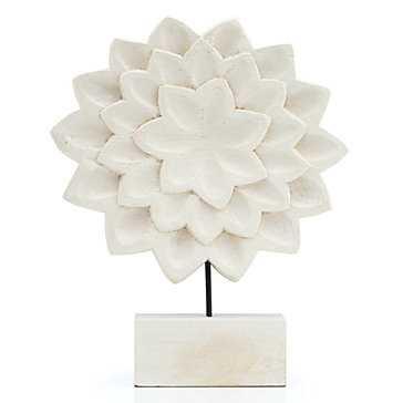 Mango Wood Lotus Flower - Z Gallerie