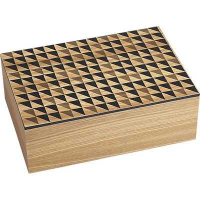 quilt box large - CB2