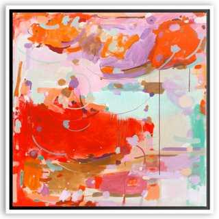 "Michelle Armas, Pop Rocks - 40"" x 40"" - White Frame, No Mat - One Kings Lane"
