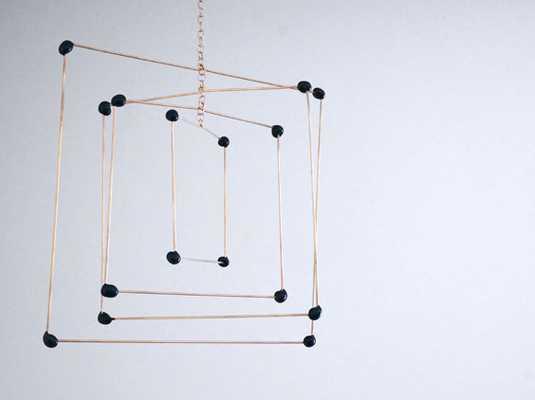 hanging mobile - Verre