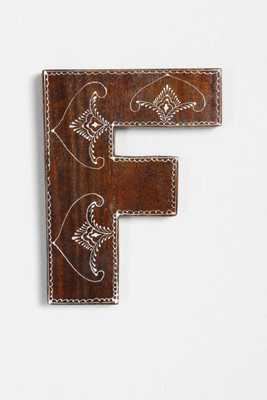 Magical Thinking Henna Letter - F - Urban Outfitters
