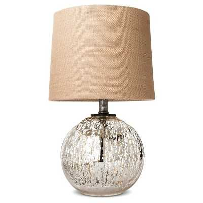 Mercury Glass Globe Accent Lamp - Target