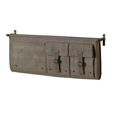 Small Grey Surplus Wall Shelf - Land of Nod