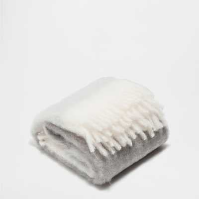 Fringed Mohair Throw - Zara Home