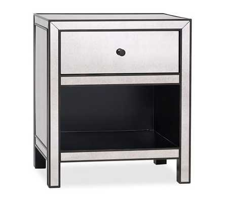 MARNIE MIRRORED BEDSIDE TABLE - Pottery Barn