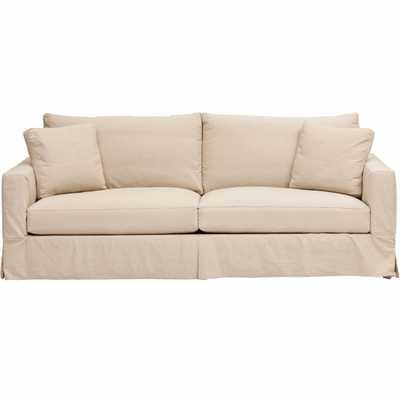 Jenna Slipcover Sofa - High Fashion Home