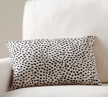 "Cheetah Print Pillow Cover - Neutral - 14"" x 20"" - Insert sold separately - Pottery Barn"