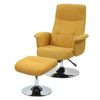 Dahna Arm Chair and Ottoman Set - AllModern