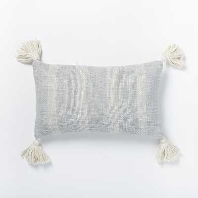 Tassel Stripe Pillow Cover - West Elm