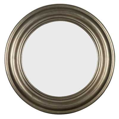 Nob Hill Round Wall Mirror - Wayfair