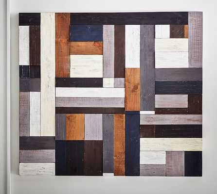Painted Pieced Woodwork - Neutral - Pottery Barn