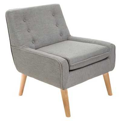 Reese Tufted Fabric Retro Chair - Target