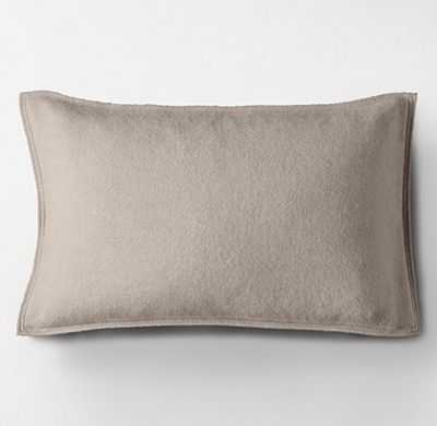 CASHMERE PILLOW COVER - Spruce - No insert - RH