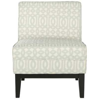 Arnold Accent Chair - Silver/Cream - jossandmain.com