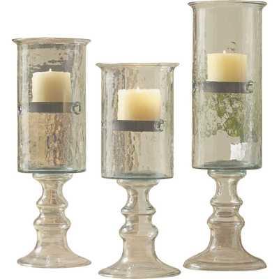 Pedestal Cylinder Candleholder - small - Birch Lane