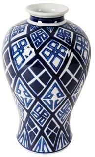 """13"""" Ceramic Vase - One Kings Lane"""