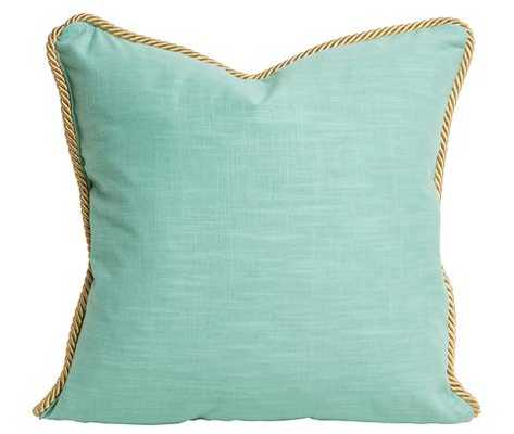 Pool & Gold Rope Pillow - Society Social