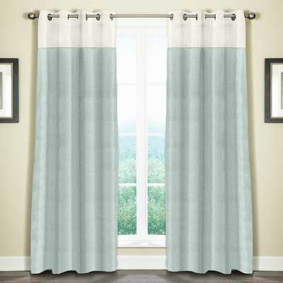 "Monterey Single Curtain Panel - Mineral Blue - 108"" L X 50"" W - Wayfair"