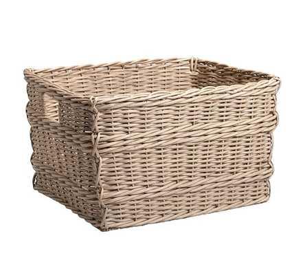 Modular Banquette Basket - Pottery Barn