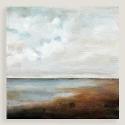 "Lakeside - 35""W x 35""H - Unframed - World Market/Cost Plus"