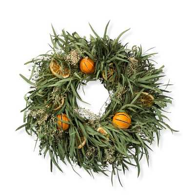 Lemon Citrus Wreath - Williams Sonoma