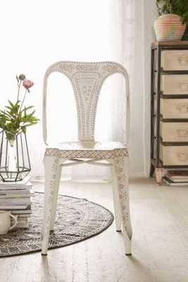 Painted Industrial Chair - White - Urban Outfitters