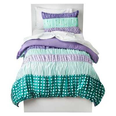 Circo® Dots & Stripes Ruched Bed Set - Target