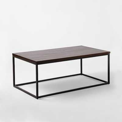Box Frame Coffee Table - Cafe - Wide - West Elm