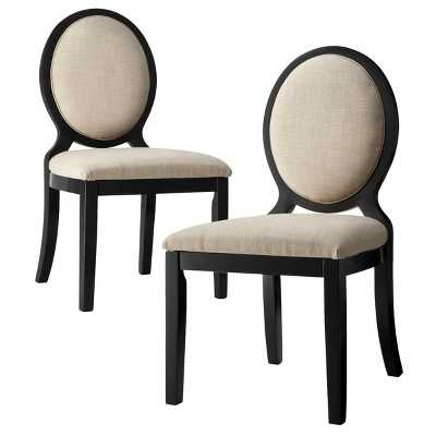Morris Oval Back Dining Chair (Set of 2) - Target