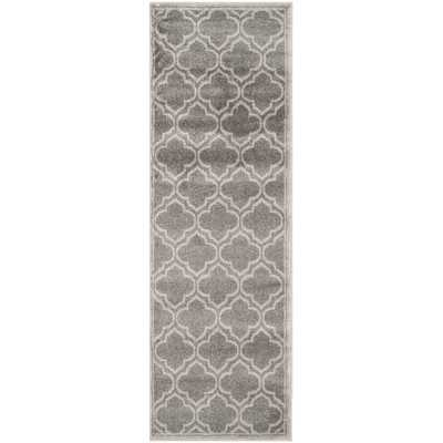 Amherst Grey/Light Grey Outdoor Area Rug - Wayfair
