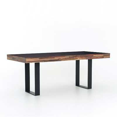 Staggered Wood Dining Table - West Elm