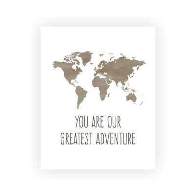 "You Are Our Greatest Adventure Art Print - 5"" x 7"" - Unframed - Etsy"
